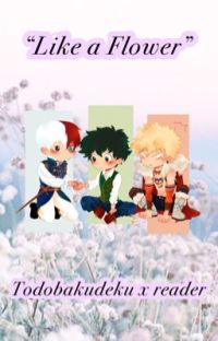 """Like a flower""/Todobakudeku x reader/Fantasy AU cover"