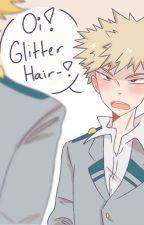 """""""Oi, Glitter Hair!"""" BAKUYAMA by AyanoandAoyama"""
