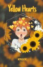 yellow hearts   hinata & nishinoya by noyashini
