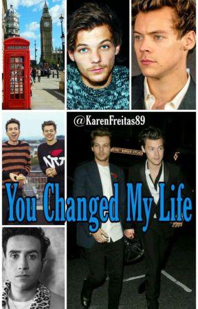 You Changed My Life [L.S] Mpreg!Harry by KarenFreitas89