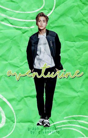 Aventurine | graphic portfolio by GianEdits