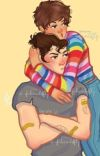 larry fluff ~ one shots cover