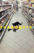 teenagers by helemconeme