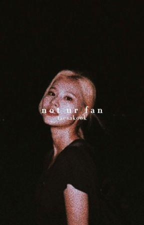 not ur fan » taesakook by AIKAHIRAISSI