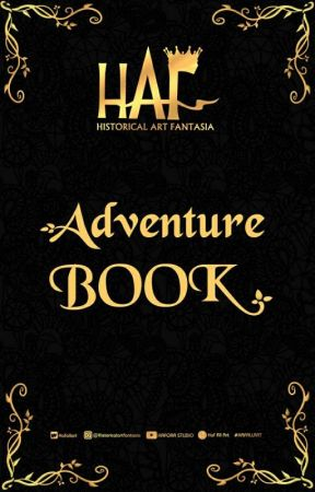 HAF ADVENTURE BOOK by Hafallart