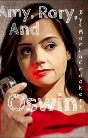 Amy, Rory, and Oswin by MariaCrockett