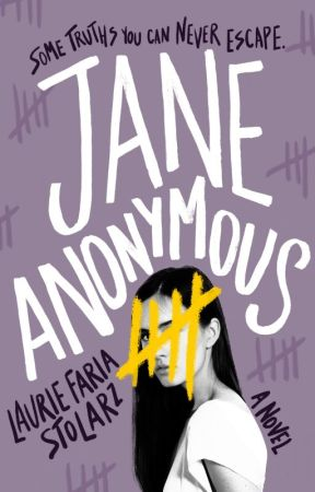 Jane Anonymous (sample pages teaser) by lauriestolarz