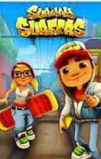 """Spark between the Surfers of the Subway (a """"Subway surfers fanfic) by Nerdystorywriter"""