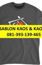 TERMURAH, 0813-9313-9465, Tempat kaos sablon 30 s Di magelang by agenkaospolos