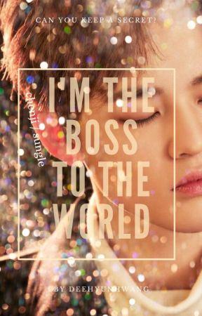 I'M THE BOSS TO THE WORLD [ CHENJI / SUNGLE ] by deehyunhwang