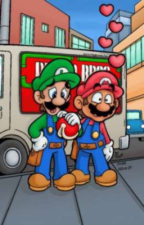 Mario and Luigi reaction to ships Everything Needs A Trilogy by AJ7866