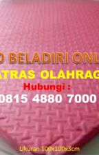 [DISTRIBUTOR] Matras Taekwondo Koba di Bangka Belitung, 0815 4880 7000 by tokoalatbeladiritop