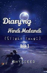 Diary ng hindi Malandi Slight lang book 3 cover