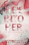 HE'S INTO HER (SPECIAL FANMADE STORY) cover