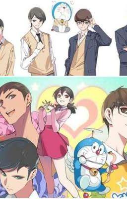 [Đồng nhân Doraemon] Nắm chặt tay nhau.