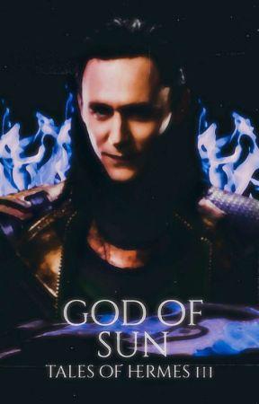 GOD OF SUN • TALES OF HERMES 3 by poomyluuna