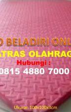 [DISTRIBUTOR] Harga Matras Silat Kalianda di Lampung, 0815 4880 7000 by tokoalatbeladiritop