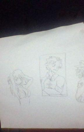 my drawings by Hisoka_wife_4534