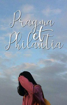 Pragma et Philautia by caeruleophilex