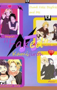 """Faked"" (A Kamijirou Fanfiction) cover"