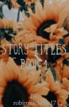 Story Titles cover