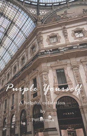 Purple Yourself by POTAEMAA