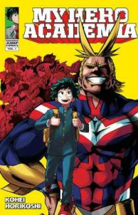 My Hero Academia Manga  cover