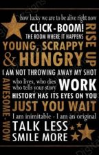 Rise Up: Hamilton Cast Fanfiction by 24pennyy