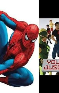 Spider-man OC Insert x Young Justice Season 1 cover