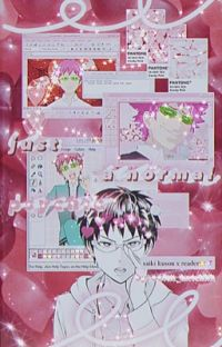 『just a normal psychic | k. saiki』 cover