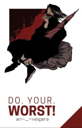 Do. Your. Worst! »Feitan Porter« by Ari-_-Vespera