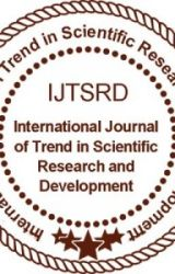 Volume-4 Issue-1 by ijtsrd2019