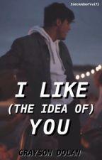 i like (the idea of) you • grayson dolan by mercurygrant