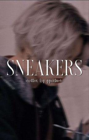 sneakers | jjk.  by gguktaem