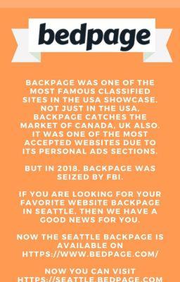 Backpage www com seattle Women Seeking