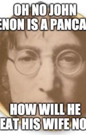 John Lennon Pancake X Reader  by please_go_away_man