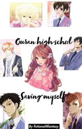 Ouran high school host club - Saving myself - Kyoya x reader x Mori x Honey by Fictional4Fantasy