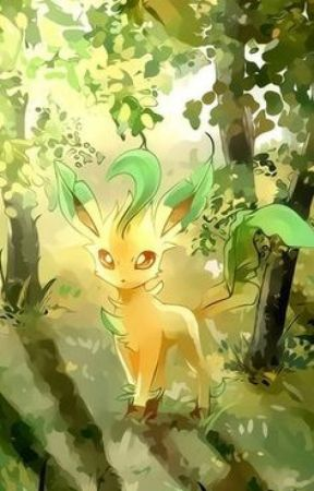 Natures all i got left... (F Leafeon X M Trainer ) by Lucariolover1000