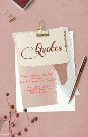 Kumpulan Quotes Dan Puisi by jenny886