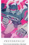 || Preferencje z Transformers Prime ||  cover