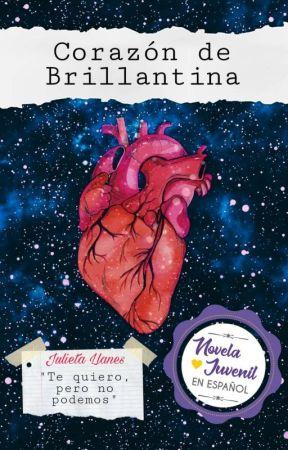 Corazón de Brillantina by gardeniasenprimavera