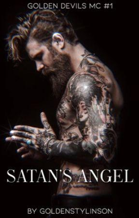 Satan's Angel {Golden Devils MC #1}   𝘋𝘪𝘴𝘤𝘰𝘯𝘵𝘪𝘯𝘶𝘦𝘥 by Hawkspretty