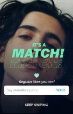 It's a Match! W O L F K I N G by bluemoony7