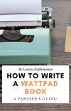 HOW TO WRITE A WATTPAD BOOK cover