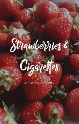 strawberries & cigarettes | hueningkai x taehyun