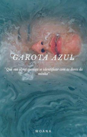 Garota Azul by _woana