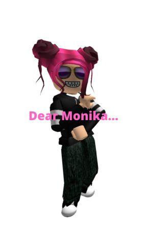 dear monika... ~A DDLC MEME~ by --heheimindanger--