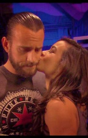 Remember You:AJ Lee and CM Punk by xTheBlackWidowx