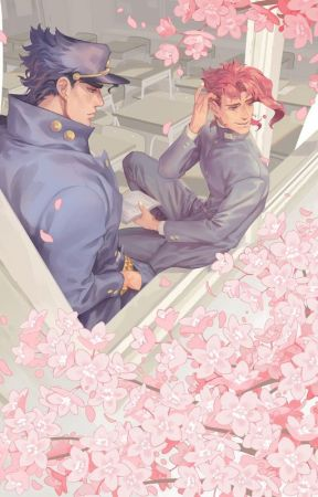La pregunta | Jotaro × Kakyoin | One Shot by flanbizcocho