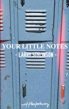 your little notes || l.s by wafflesforharry
